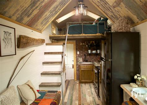interiors of small homes tiny house town bird s nest tiny house 192 sq ft