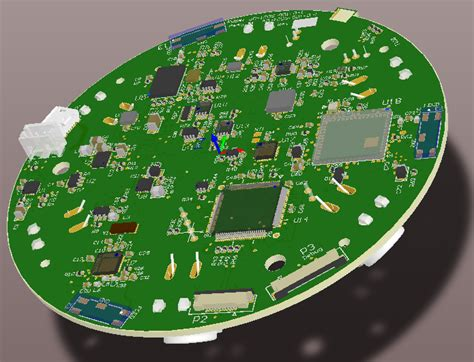 Room Modeling Software example pcbs designed by golden gate graphics using altium