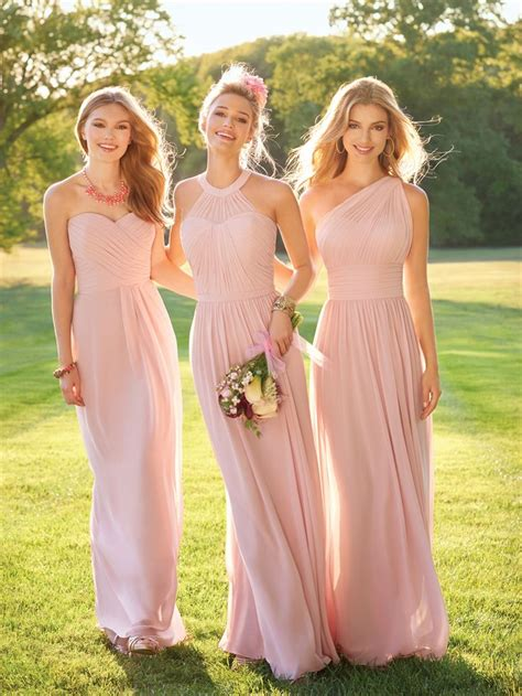 light pink bridesmaid dresses 25 best ideas about light pink bridesmaid dresses on