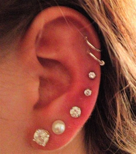 photo piercing oreille