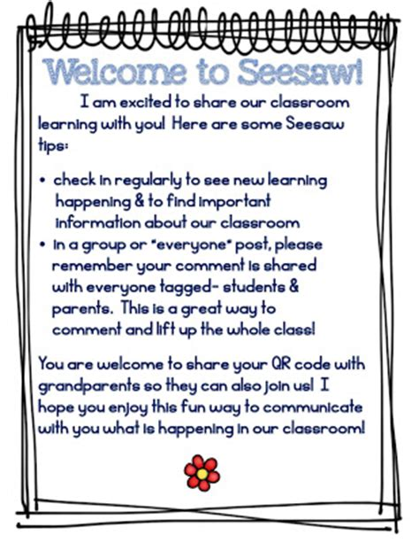 Parent Letter Seesaw Guided Reading The Learning