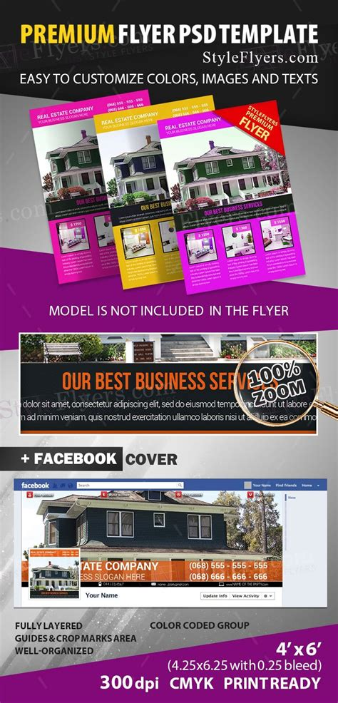 apartment flyers free templates rent apartment psd flyer template 12400 styleflyers