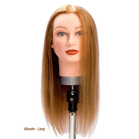Human Hair Mannequin Heads by Mannequin Human Hair