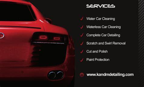 Car Detailing Business Cards Templates by K M Mobile Car Detailing In Ballajura Perth Wa Car Wash