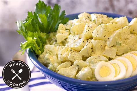 creamy deviled egg potato salad recipe what s cooking