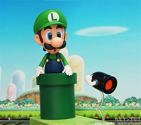 Nendoroid 393 Mario Bros Luigi Include Stand New Mib Kws nendoroid luigi leaping into in the summer of 2014