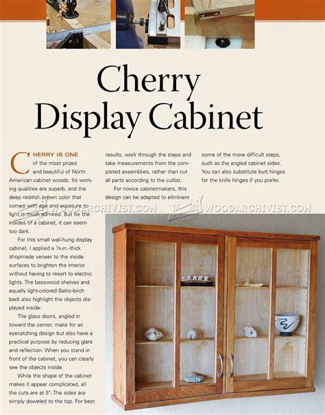curio display cabinet plans cherry display cabinet plans woodarchivist