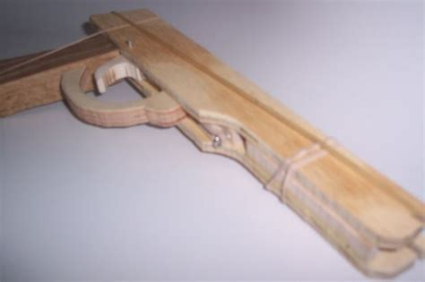 wood pattern vectorworks semi auto rubber band gun
