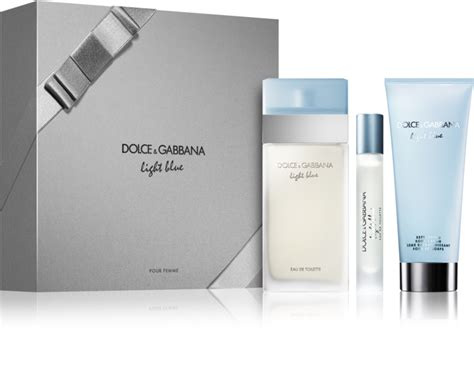 dolce and gabbana light blue gift set dolce gabbana light blue gift set іх notino co uk