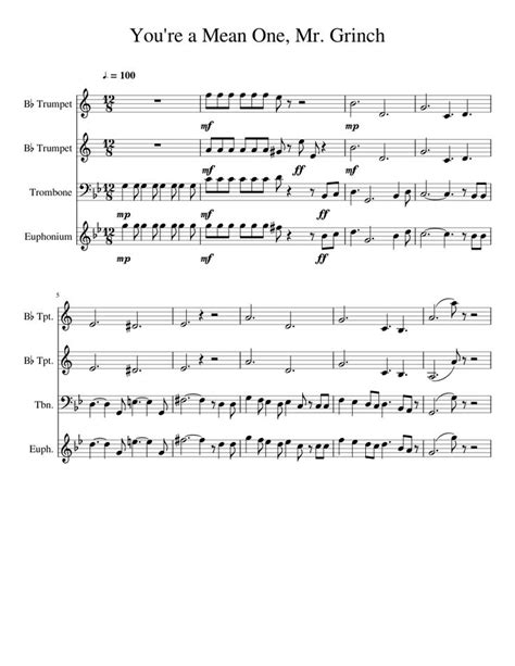 brass bed lyrics free sheet music for trumpet trombone duet 14 duets
