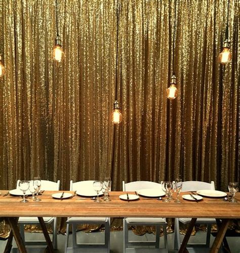 glitter curtains for parties online buy wholesale red gold curtains from china red gold