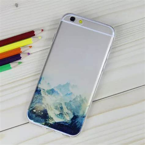 Casing Cover Iphone 6 Plus 6 Soft Burung Merak Bling clear pattern rubber soft tpu phone cover skin for apple iphone 6 6s plus ebay