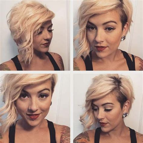 a symmetrical side swept bang pixie best 25 shaved bob ideas on pinterest side cuts side