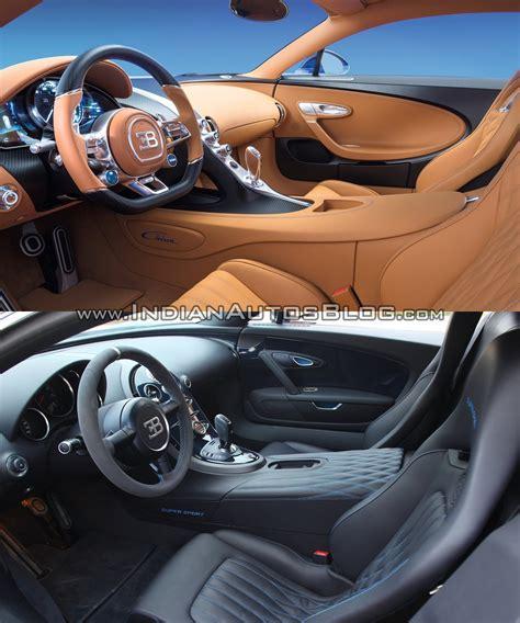 bugatti veyron interior bugatti chiron vs bugatti veyron interior