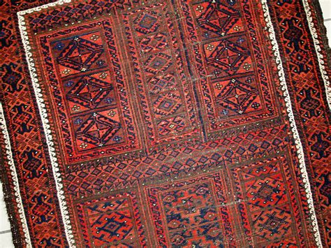 antique afghan baluch handmade rug 1900s for sale at pamono