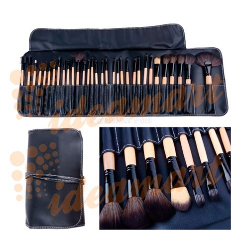Kuas Makeup 32 Pcs Mac 1 kit de pincel para maquiagem 32 pcs estojo r 99 99 em mercado livre