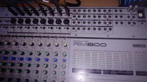 table de mixage yamaha 16 pistes vend table de mixage yamaha rm800 16 aquitaine