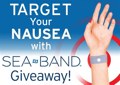 Band Giveaways - target your nausea with sea band 174 giveaway