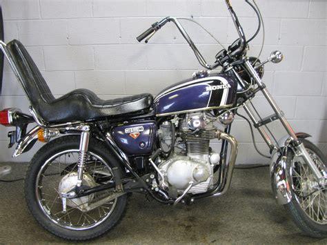 Honda Choppers by 1973 Honda Cb350g Chopper School Motorcycle