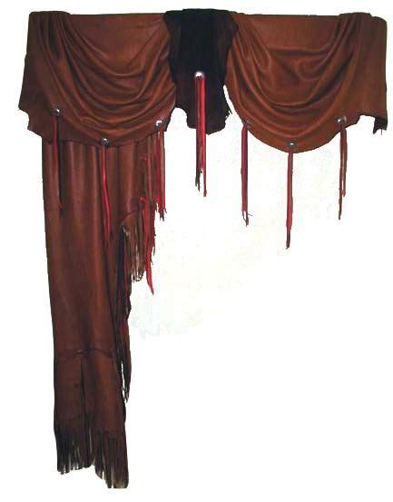 leather drapes western curtains leather curtains with numerous options