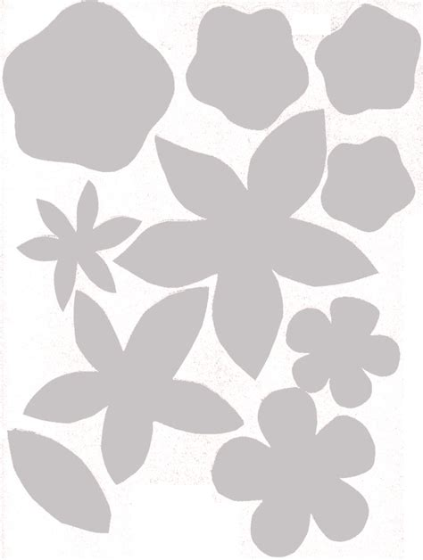 How To Make Felt Flowers 37 Diy Tutorials Guide Patterns Ornament Stencil Template