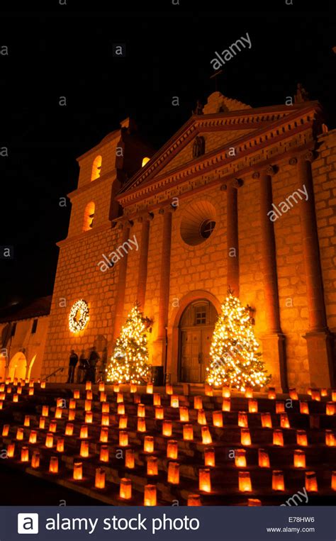 santa barbara christmas lights christmas lights at mission of santa barbara queen of the