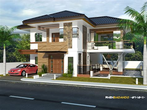 drelan home design 2 storey modern small houses with gate of philippines