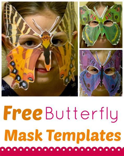 caterpillar mask template free butterfly mask templates mardi gras