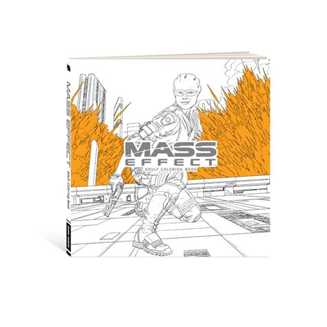 coloring book exclusive the bioware store mass effect coloring book