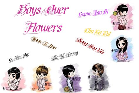 boys over flowers cast names pictures to pin on pinterest pinsdaddy