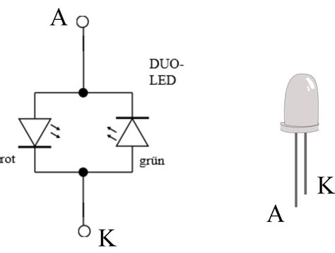 ir diode widerstand led unterricht lernmaterial mikrocontroller basic st mint