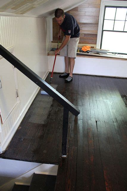 diy wood floor refinishing praying   original hardwood hiding   carpet  decent