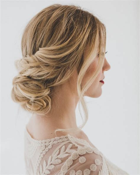 pretty wedding updo for any looking for a unique style