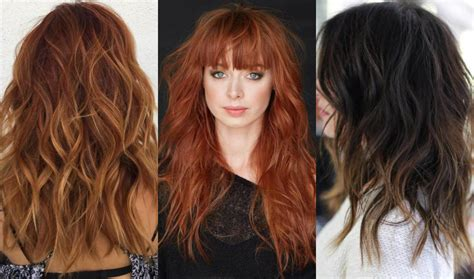 hairstyles for long hair in 2018 long shag haircuts for 2018 hairstyles 2018 new haircuts