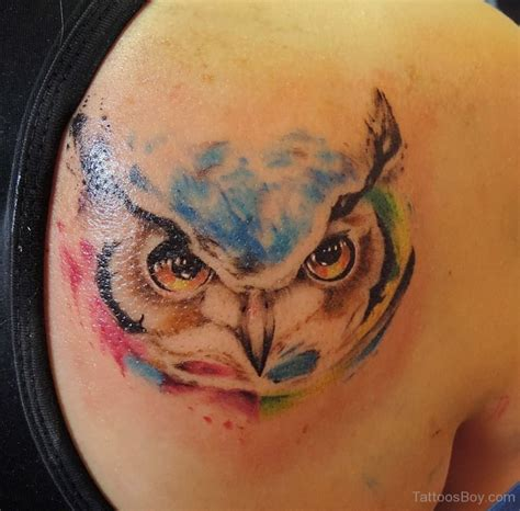 owl watercolor tattoo bird tattoos designs pictures page 25