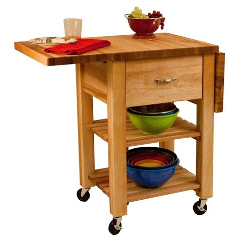 butcher block rolling kitchen island cart the container utility table dropship kitchen carts carts islands