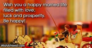 Married Life Wishes Wish You A Happy Married Life Wedding Congratulations