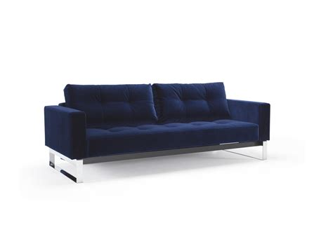 velvet sofa bed cassius velvet sofa bed size vintage velvet blue by innovation