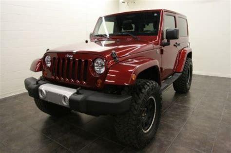 Custom Jeep Tops Buy Used Jeep Wrangler V6 4x4 Lifted Custom Wheels