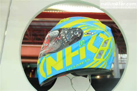 Helm Nhk Cross One galeri foto peluncuran helm terbaru nhk dan pinlock di