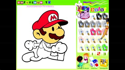 color image online mario paint and color games online mario painting games