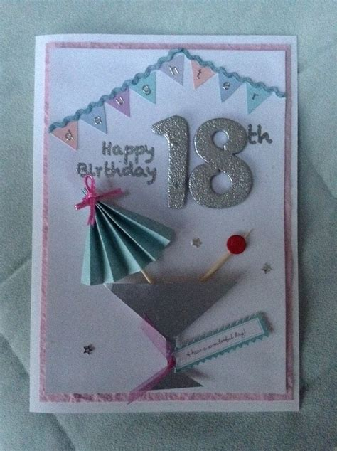 Ideas For 18th Birthday Cards Handmade - 1000 ideas about 18th birthday cards on