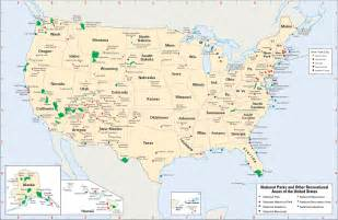 map of the united states national parks national park encyclopedia children s homework