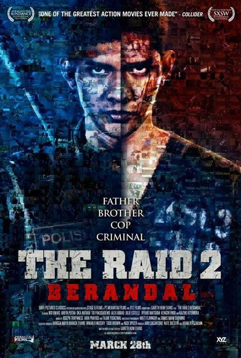 les film de iko uwais the raid 2 berandal l affiche du film d action le plus