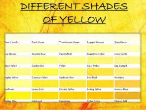 shade of yellow yellow