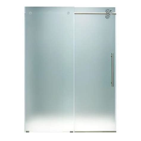 Frameless Glass Vigo 48 Inch Frameless Shower Door 3 8 48 Inch Glass Shower Door