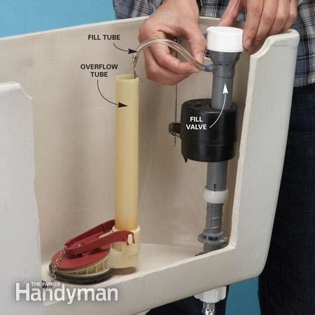 my toilet won t fill up with water how to stop a running toilet the family handyman