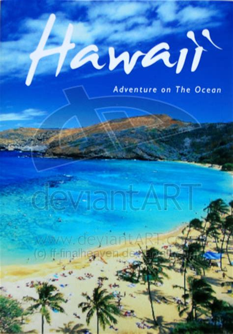 hawaii brochure template hawaii brochure by ff finalheaven on deviantart