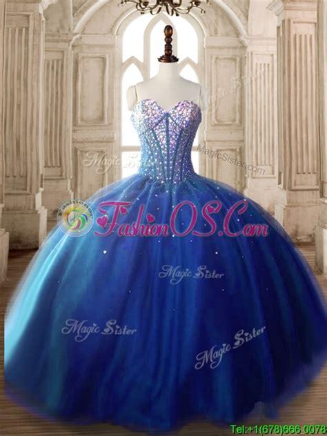 Dresslong Dress Cerry Black Diskon discount royal blue tulle sweet 16 dress with beading 232 56
