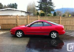 Acura Integra Rs For Sale 1995 Acura Integra Rs For Sale In Abbotsford